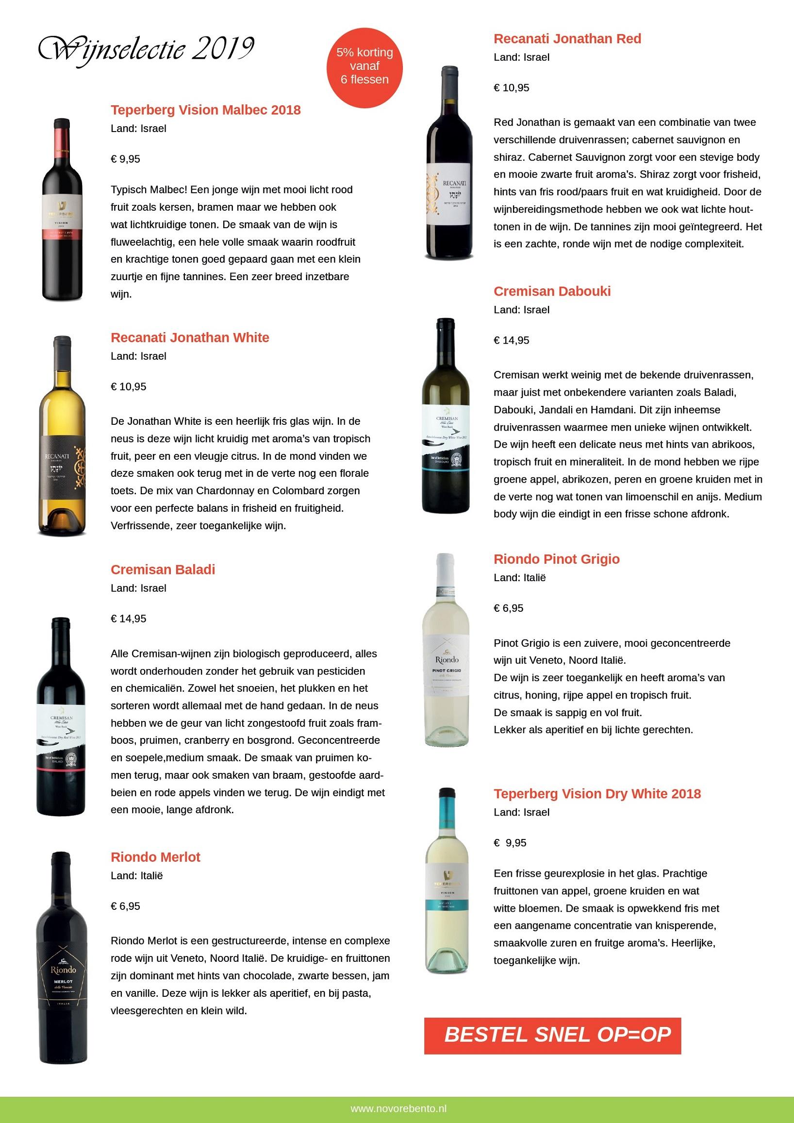 Uitnodiging wijnproeverij